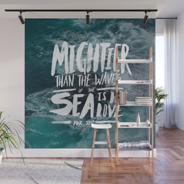 Mightier than the Sea Wall Mural