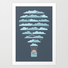 Weather Balloon Art Print