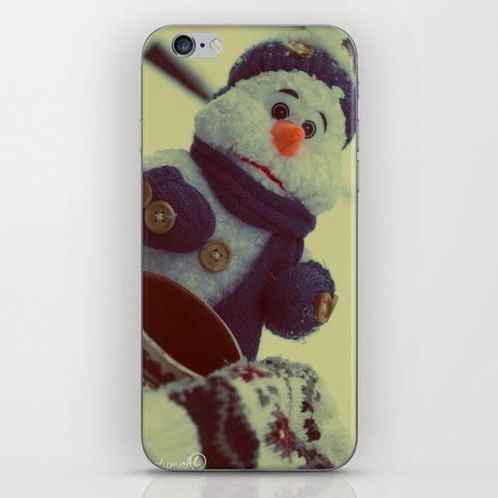 Sad Snownam iPhone & iPod Skin