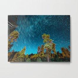 Starlapse South Dakota Metal Print