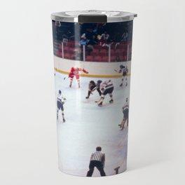 Vintage Ice Hockey Match Travel Mug