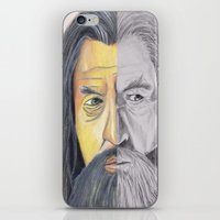 gandalf iPhone & iPod Skins featuring Gandalf   by RidnelSilva