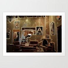 Adobe Lobby Art Print