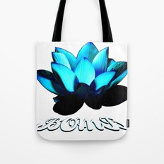 Lotus Flower Bomb Tote Bag