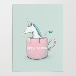 Brewnicorn Poster