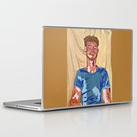 mac Laptop & iPad Skins featuring Mac by Probably Plaid