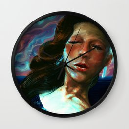 Immigrant to Jupiter I Wall Clock