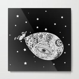 Whale's dreams Metal Print