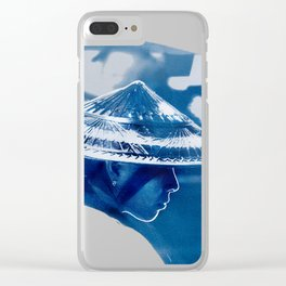 Pure Beauty - Thai Girl Clear iPhone Case