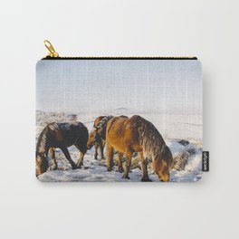 Mountain horses Carry-All Pouch
