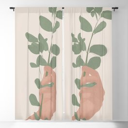 Tree Branch Blackout Curtain