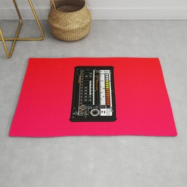 TR 808 drum machine Rug