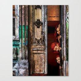 Composition 93 – 'The Old Phnom Penh Villa'  Canvas Print