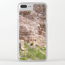 Texas Canyon Clear iPhone Case