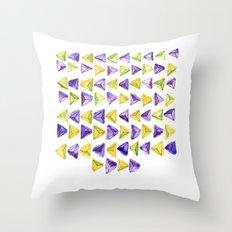 Triangle Relationship (I) Throw Pillow