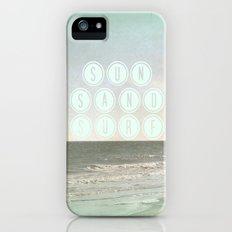 Sun, Sand, Surf  II iPhone (5, 5s) Slim Case