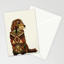 Golden Retriever ivory Stationery Cards