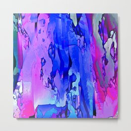 Abstracted Moods Pastels Metal Print