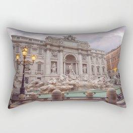 Trevi Fountain Rectangular Pillow