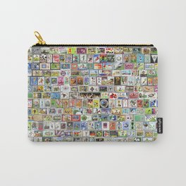 Soccer Stamps Carry-All Pouch