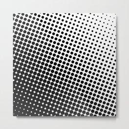 Black and White Pattern I Metal Print