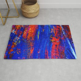 N10 - Abstract Epic Colored Moroccan Artwork. Rug
