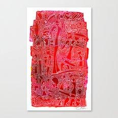 Single Fin Saturday  Canvas Print