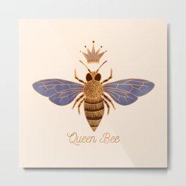 Queen Bee - Light Version Metal Print