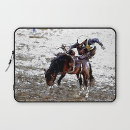 The Dismount   -   Rodeo Cowboy Laptop Sleeve