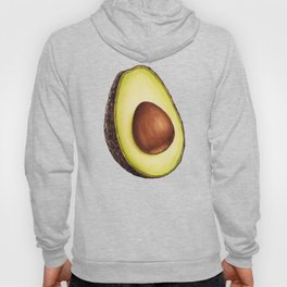 Avocado Pattern Hoody