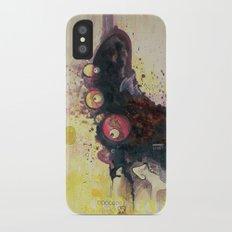 methy megadrive badgirl iPhone X Slim Case