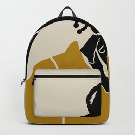 Black Hair No. 1 Backpack