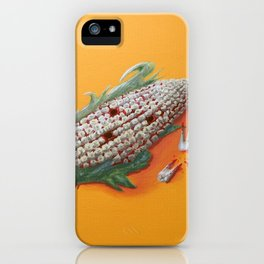 Corn Of The Gob iPhone Case