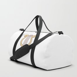 Cute Dungeons and Dragons Bard class Duffle Bag