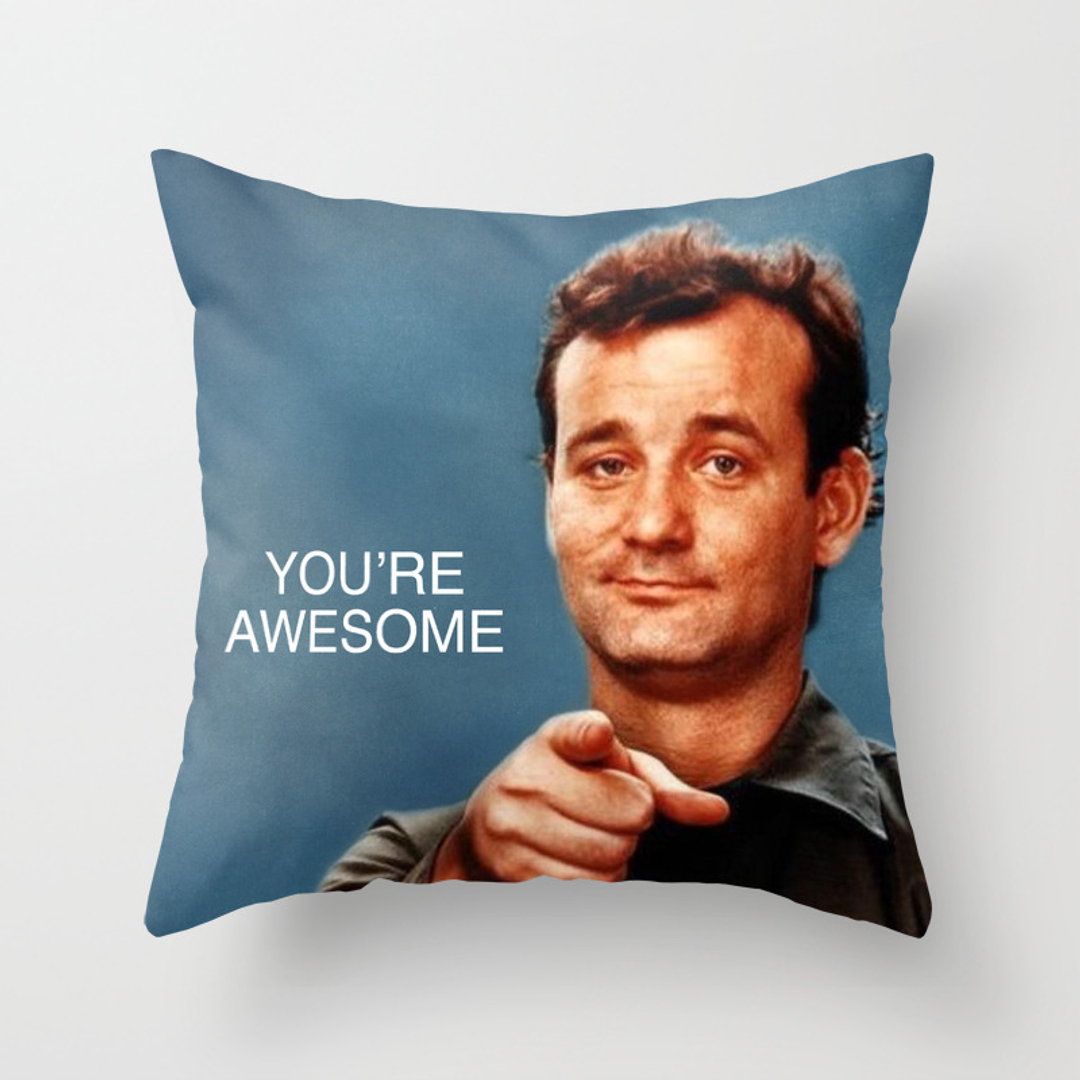 You Re Awesome: Movies-tv And People Throw Pillows