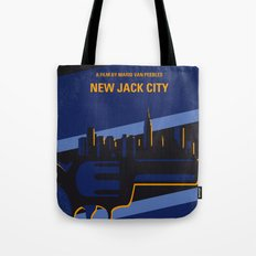 No762 My New Jack City minimal movie poster Tote Bag