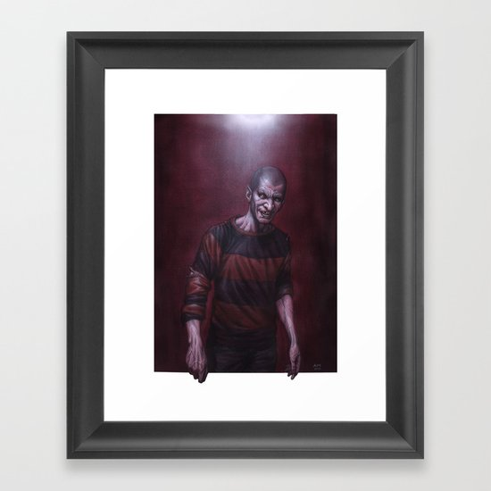 Jeffrey Darkside Framed Art Print