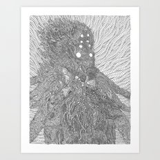 The Orc Art Print