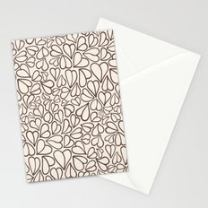 Hearts clear Stationery Cards
