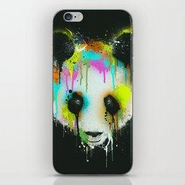 Technicolour Panda iPhone Skin