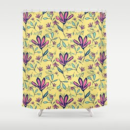 Four Petals Shower Curtain