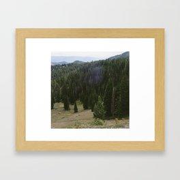 Guardsman Pass Framed Art Print