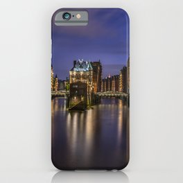 Hamburg River iPhone Case