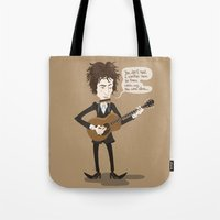 dylan Tote Bags featuring Dylan by AnaMF