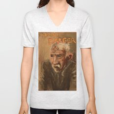 50 Artists: Henry Darger Unisex V-Neck