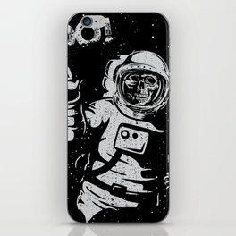 BOO !! Astronaut Skeleton Science Shirts iPhone Skin