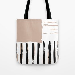 Stripes in diffrent. Tote Bag