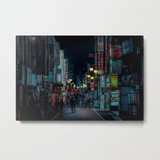 Kabukicho Nights Metal Print