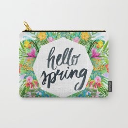 Hello spring Carry-All Pouch