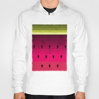 watermelon Hoodies featuring Watermelon by Kakel